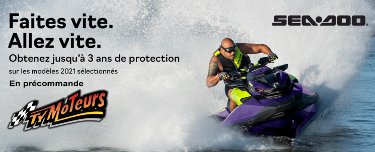 Sea-Doo 2021 3 ans protection
